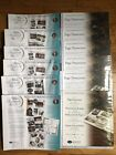 Creative Memories 12x12 PAGES  PROTECTORS Lot of 12 Old Style