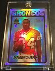 Shannon Sharpe Cards, Rookie Card and Autographed Memorabilia Guide 5