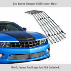 Fits 2010 2013 Chevy Camaro SS V8 Lower Bumper Stainless Silver Billet Grille