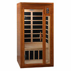 Dynamic Barcelona 1 to 2 Person Hemlock Wood Low EMF FAR Infrared Sauna For Home