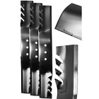 Replacement Lawn Mower Blade Set 60 in Swisher 205 in Finish Cut 3 PACK