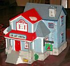 LEMAX CHRISTMAS VILLAGE PORCELAIN HOUSE THE LOBSTER HOUSE