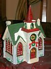 LEMAX CHRISTMAS VILLAGE PORCELAIN HOUSE THE VALLEY CHURCH