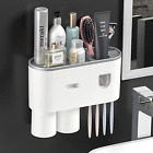 Automatic Toothpaste Dispenser with Toothbrush Holder Multifunctional Toothbrus