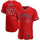 Los Angeles Angels Mike Trout #27 Nike Men's Official MLB Authentic Patch Jersey