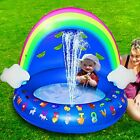 Baby Pool Toys with Canopy 40 Inflatable Kiddie Pool Floats for Outside