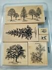 Stampin Up Wood Mount Set Lovely as a Tree