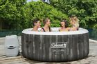Coleman 71 x 26 Bahamas Airjet Inflatable Hot Tub Spa 2 4 Person Jacuzzi