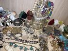 High end jewelry jars Vintage Rhinestone Silver Designer And More Stunning Clean