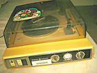 GE TURNTABLE General Electric P380C STEREO Sound System YELLOW Record Player