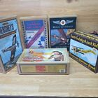 Vintage Diecast Airplane Banks lot 5 4 ERTL  1 SPEC CAST Used Free Shipping