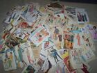 Lot of 114 cut sewing patterns mixed brands and types