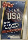 Topps Team USA 2020 Olympic and Paralympic cards Blaster Box SEALED IN HAND