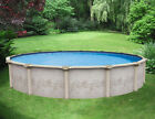 18 x 52 Above Ground RESIN Pool Package  Costa Del Sol  LIFETIME WARRANTY
