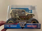 Spin Master Monster Jam Steel Titans Gold Grave Digger 124 Scale Exclusive Rare