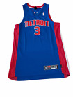 Authentic Detroit Pistons Jersey by Nike, Ben Wallace #3, Never worn