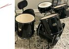 pearl export series 5 pc drum set With Gator Bag Soft Cases