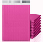 Keepack 4x8 50 Pack Bubble Mailers Small Durable Padded Envelopes Hot Pink Shi