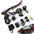 8 Pole Stator Wiring Harness Set For Electric Upright Engine GY6 125cc 150cc ATV