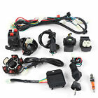 9 Pcs Electric Wiring Harness+6 Pole Stator For Go Kart GY6 125cc Upright Engine