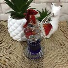 Vintage Murano Rooster Glass Paperweight  Unmarked