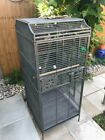 Large parrot cage used