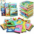 My First Soft Book Nontoxic Fabric Baby Cloth Books Early Education Toys Activi