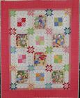 Kitty Cat Picnic Quilt Kit by Holly Holderman 485x585 Backing included New