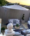rattan garden dining set With Accessories