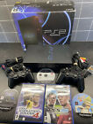 Sony Playstation 2 PS2 Chunky Console  SCPH-50003 with 2 Controllers & 5 Games