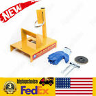 Blade sharpener Yellow Lawn Mower Sharpener Blade Included Shipped from bigtop
