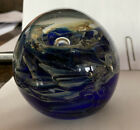 Art Glass Paperweight Signed
