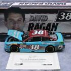 Lot of 2 David Ragan Autographed 1 24 Scale NASCAR Diecasts