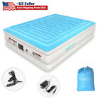 Air Mattress Inflatable Bed Car Home Powered TWIN With Built In Electric Pump