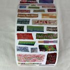 2004 PSX Designs For Creativity Stickers Teen Sayings SR6076 39 Sheets 1 Roll