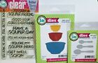 Impression Obsession SOUP SAYINGS Clear Stamp  SOUP SPOONS  SOUP BOWLS Dies