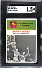 Jerry West Rookie Cards and Autographed Memorabilia Guide 8