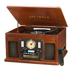 Victrola Wood 8 in 1 Bluetooth Record Player w USB Encoding NEW