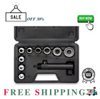 Neiko 02614A Interchangable Hollow Hole Punch Set with Handle Heavy Duty with H