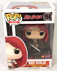 Funko POP 158 PX Exclusive Bloody RED SONJA Vinyl Figure, New with BOX WEAR
