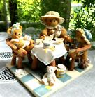 CHERISHED TEDDIES THERES ALWAYS TIME FOR FRIENDS AND A GOOD CUP OF TEA