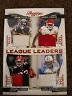 2011 Prestige League Leaders #18 Foster Charles Turner Johson Quad Patch # to 50