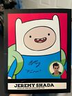 Mathematical! 2014 Cryptozoic Adventure Time Autographs Gallery, Guide 40