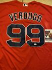 RED SOX Alex Verdugo SIGNED Autographed BOSTON RED SOX JERSEY WITH JSA COA ⭐️⭐️