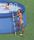 Intex 28067E Above Ground 52 Wall Steel Frame Swimming Pool Entry Ladder