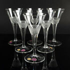 Moser cut crystal glass MAHARANI Sherry glass drinking glass SET of six mid cent