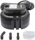 Lnicez Pool Cover Pump Above Ground Submersible Sump Pump Swimming Water with