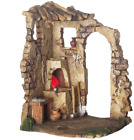 Fontanini Nativity Building Lighted Blacksmith Shop 75 Scale Collection