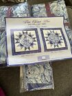 Fine Chine Blue Quilt Kit for a cure Fabric Queen Size
