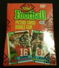 1990 Topps Football Wax box - 36 packs - BBCE wrapped FROM A SEALED CASE - FASC!